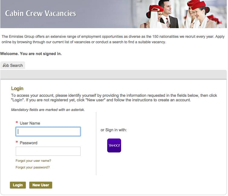 how to apply for emirates