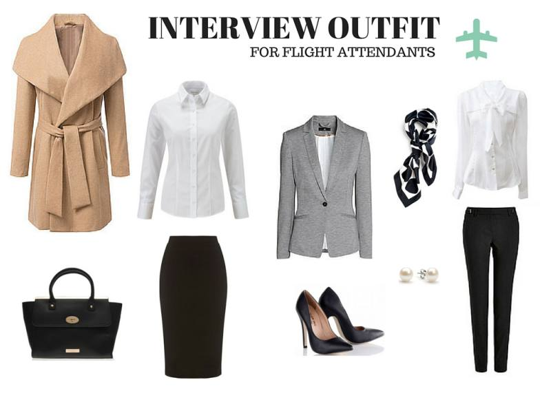 what to wear for interview flight attendant