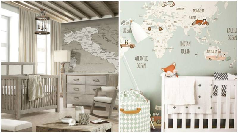 Travel Inspired Deco Ideas The Baby S Room