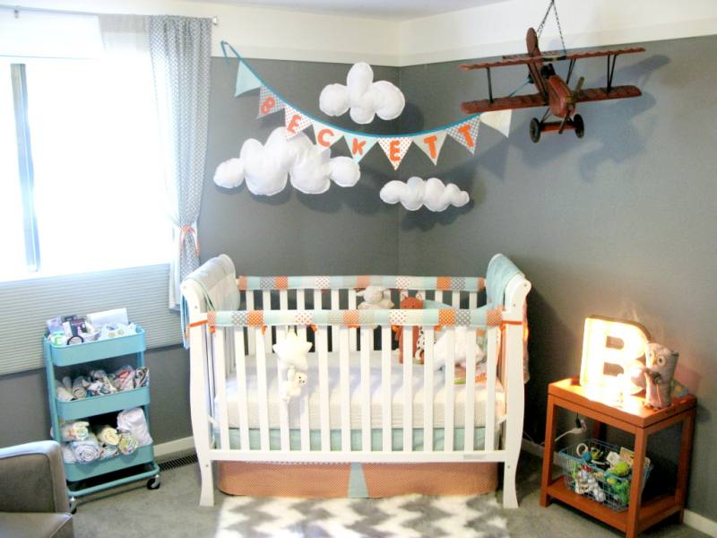 Travel Themed Bedroom For Seasoned Explorers: TRAVEL INSPIRED DECO IDEAS: THE BABY'S ROOM