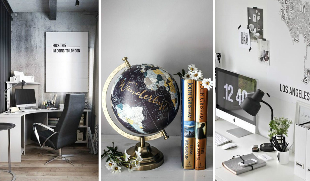 TRAVEL INSPIRED DECO IDEAS: THE OFFICE | DECO | A Luxury ...