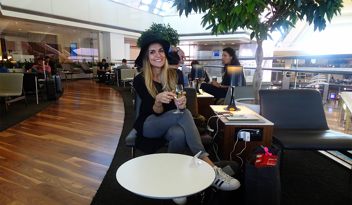 REVIEW: STAR ALLIANCE BUSINESS LOUNGE, LOS ANGELES