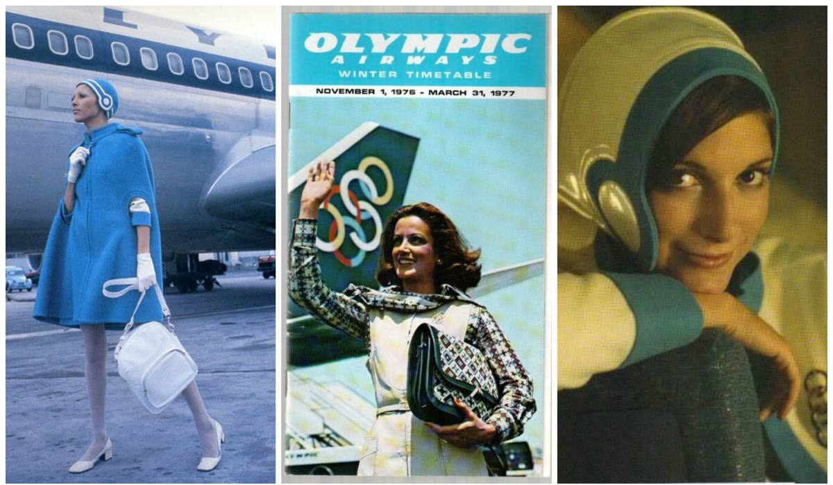 THE FABULOUS UNIFORMS OF THE OLYMPIC AIRWAYS