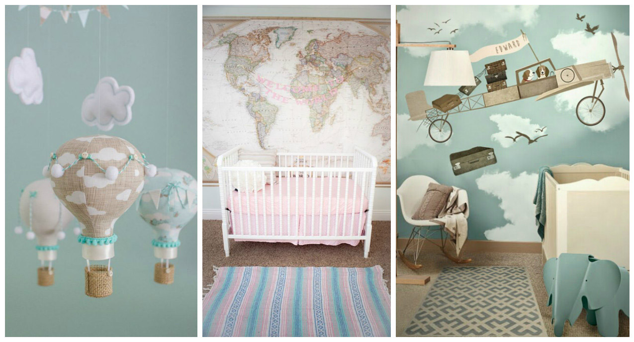 TRAVEL INSPIRED DECO IDEAS: THE BABY'S ROOM