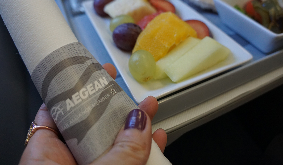 REVIEW: TRAVELING BUSINESS CLASS WITH AEGEAN