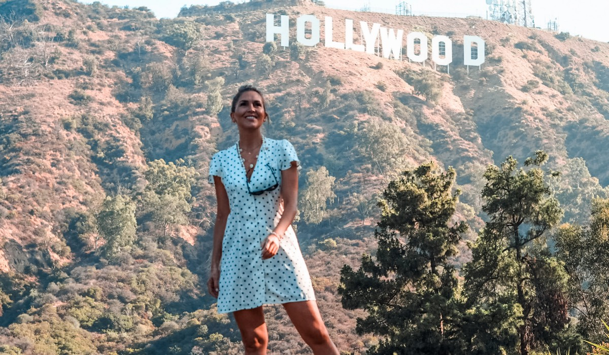 USA ROAD TRIP - THE BEST VIEW TO HOLLYWOOD SIGN