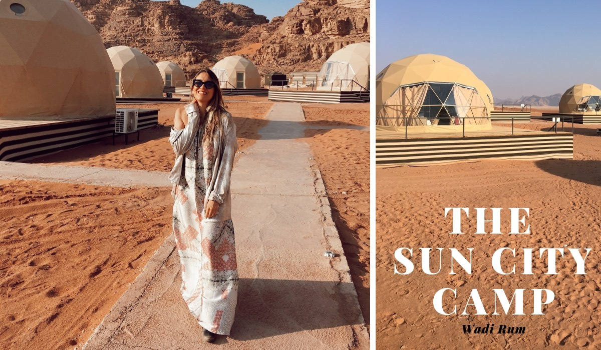 TRAVELING TO JORDAN: SPENDING THE NIGHT AT SUN CITY BEDUIN CAMP