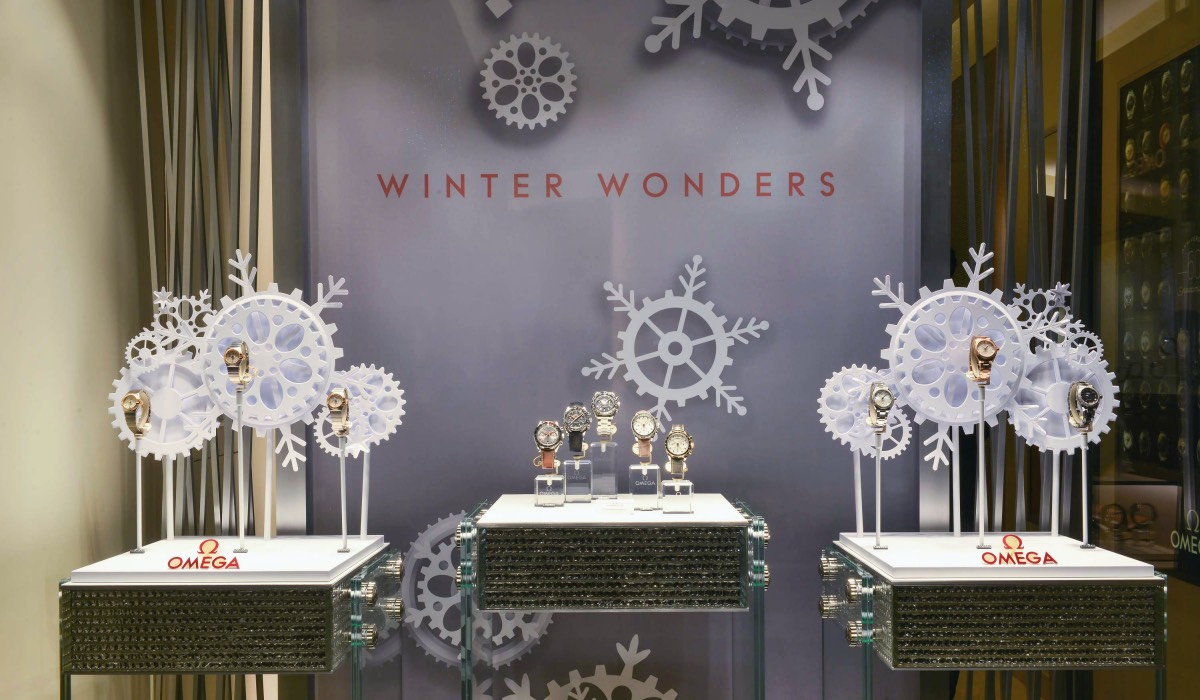 WINTER WONDERS AT OMEGA BOUTIQUE