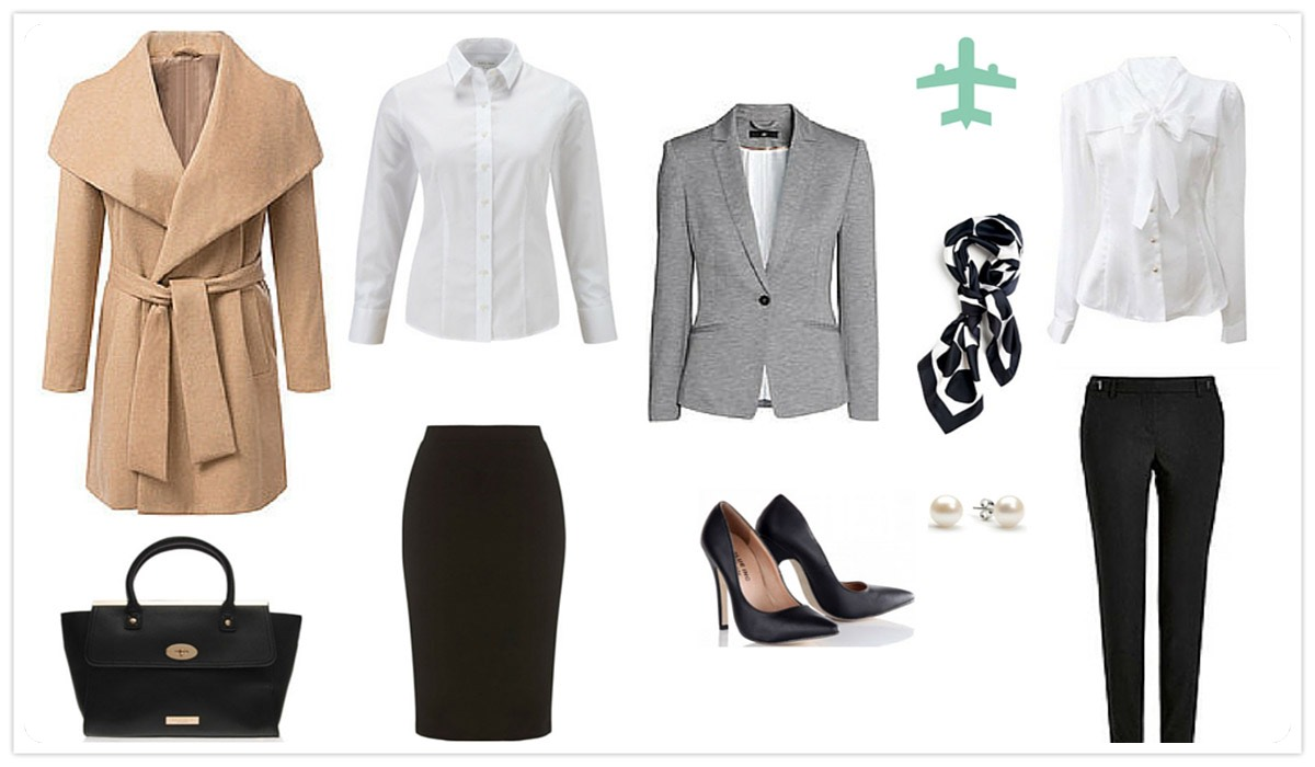INTERVIEW OUTFIT FOR FLIGHT ATTENDANTS