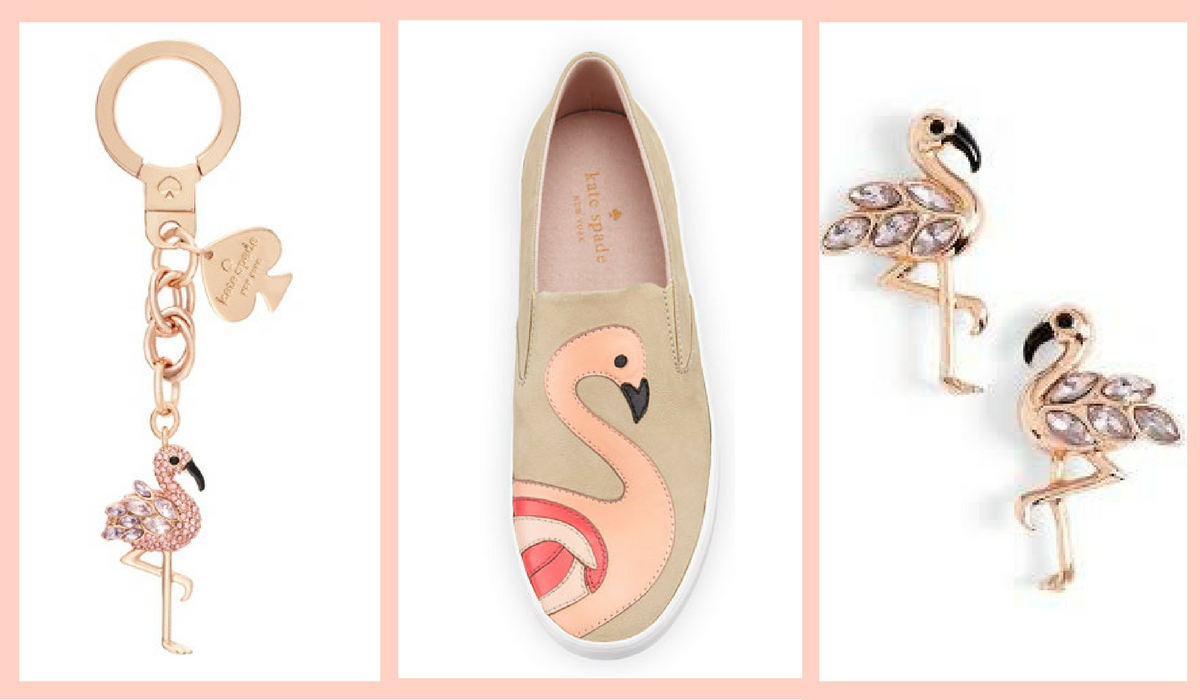 FLAMINGO FEVER BY KATE SPADE