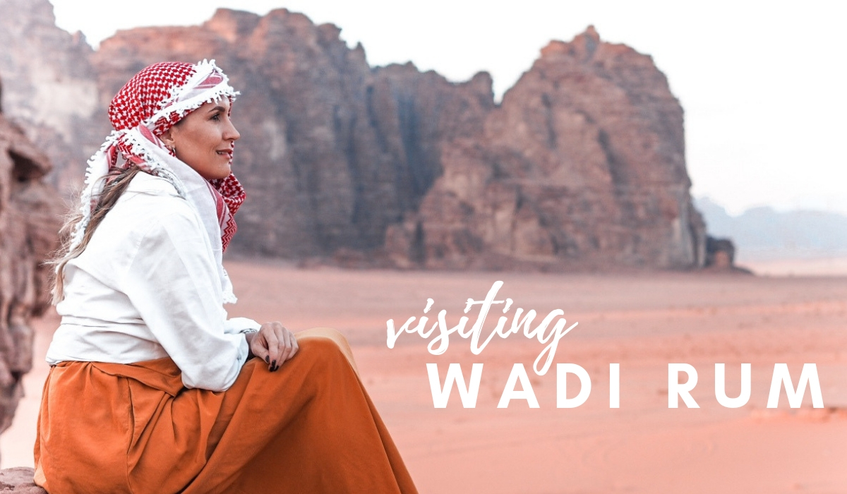 TRAVELING TO JORDAN: SUNSET IN WADI RUM DESERT