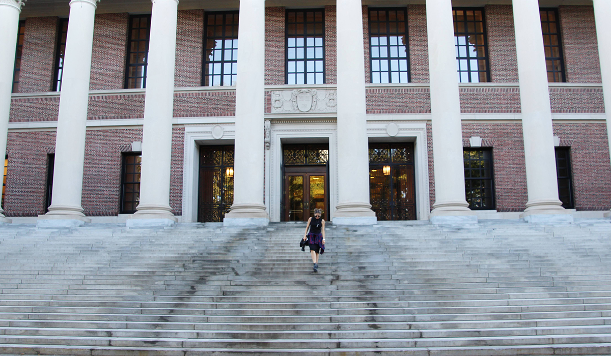 SELF-GUIDED TOUR AT HARVARD UNIVERSITY