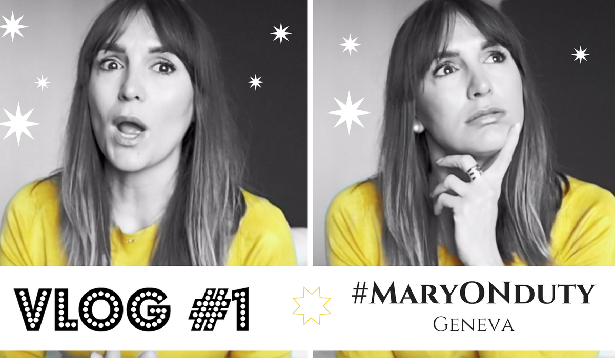 VLOG #1 | 24 HOURS IN GENEVE | #MaryONduty