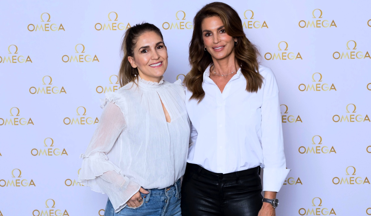 MEETING CINDY CRAWFORD IN PARIS