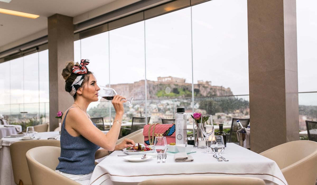 MEDITERRANEAN LUNCH WITH ACROPOLIS VIEW